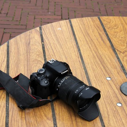 Cannon Camera with Lens