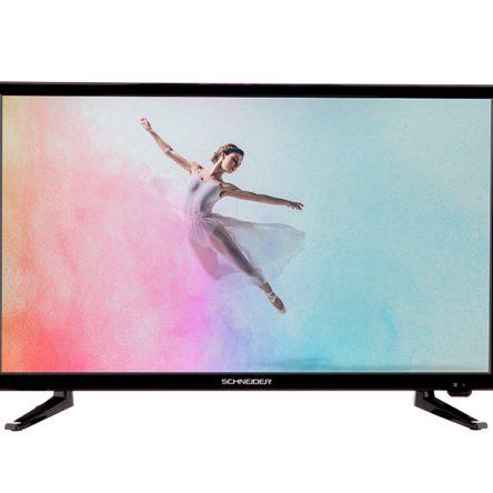 TELEVISOR HD 23.6″ RAINBOW NEGRO SCHNEIDER
